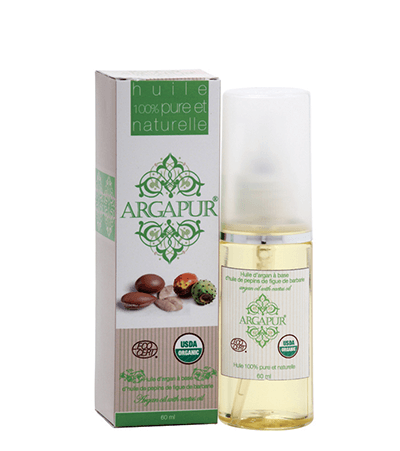 Organic cactus and argan oil serum