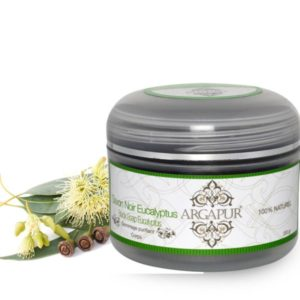 Moroccan black soap with eucalyptus oil 200g