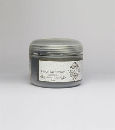 Moroccan beldi black soap natural 200g