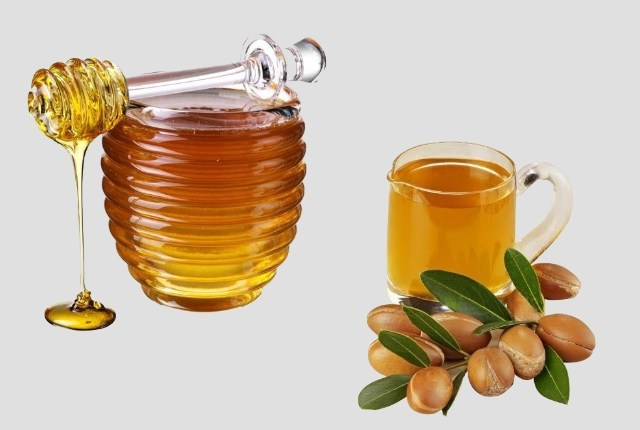 Honey and Argan Oil